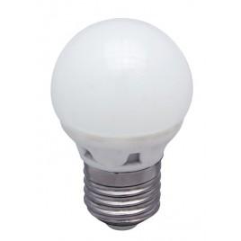 *LAMPARA LED REDONDA 5 W. -  E-27 (LUZ CALIDA)