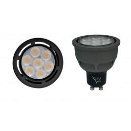 *LAMPARA LED GU-10 -  7 W. (LUZ FRIA)