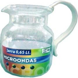 JARRA MICROONDAS 0,65 L S/T
